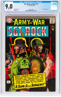 Silver Age (1956-1969):War, Our Army at War #172 (DC, 1966) CGC VF/NM 9.0 Off-white pages....