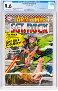 Silver Age (1956-1969):Superhero, Our Army at War #174 (DC, 1966) CGC NM+ 9.6 Off-white to white pages....