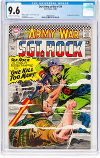 Our Army at War #174 (DC, 1966) CGC NM+ 9.6 Off-white to white pages
