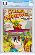 Silver Age (1956-1969):Science Fiction, Strange Adventures #152 (DC, 1963) CGC NM- 9.2 Off-white pages....