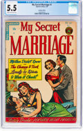 Golden Age (1938-1955):Romance, My Secret Marriage #1 Canadian Edition (Superior Comics, 1953) CGCFN- 5.5 Cream to off-white pages....