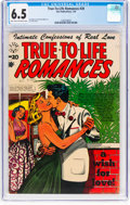 Golden Age (1938-1955):Romance, True-To-Life Romances #20 (Star Publications, 1954) CGC FN+ 6.5Light tan to off-white pages....
