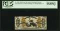 Fractional Currency:Third Issue, Fr. 1368 50¢ Third Issue Justice PCGS Choice About New 55PPQ.. ...