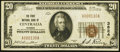 National Bank Notes:Kansas, Centralia, KS - $20 1929 Ty. 1 The First NB of Centralia Ch. # 3824 Very Fine+.. ...