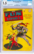 Golden Age (1938-1955):Superhero, More Fun Comics #101 (DC, 1945) CGC FR/GD 1.5 Light tan to off-white pages....