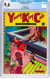 Young King Cole V2#1 Mile High Pedigree (Novelty Press, 1946) CGC NM+ 9.6 White pages