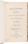Books:Fine Press and Limited Editions, [George Tucker]. A Voyage to the Moon: With Some Account of the Manners and Customs, Science and Philosophy, of th...