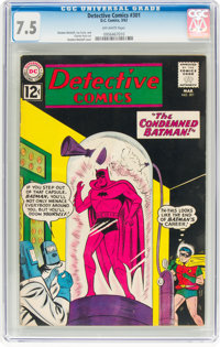 Detective Comics #301 (DC, 1962) CGC VF- 7.5 Off-white pages