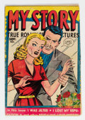 Golden Age (1938-1955):Romance, My Story #7 (Fox Features Syndicate, 1949) Condition: VG....