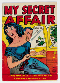 My Secret Affair #3 (Fox Features Syndicate, 1950) Condition: FN-