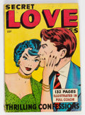 Golden Age (1938-1955):Romance, Fox Giants Secret Love Stories (Fox Features Syndicate, 1949)Condition: VG/FN....