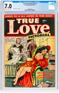 True Love Pictorial #2 (St. John, 1953) CGC FN/VF 7.0 Off-white to white pages