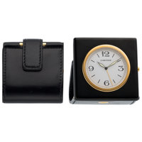 Cartier Pasha Gold-Plated Travel Clock