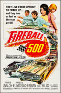 """Movie Posters:Action, Fireball 500 (American International, 1966). Folded, Very Fine-. One Sheet (27"""" X 41""""). Action.. ..."""