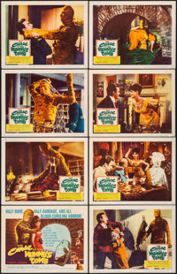 """The Curse of the Mummy's Tomb (Columbia, 1964). Very Fine-. Lobby Card Set of 8 (11"""" X 14""""). Horror. ... (Tota..."""