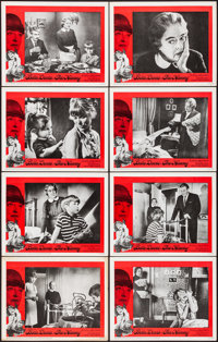 """The Nanny (20th Century Fox, 1965). Overall: Very Fine. Lobby Card Set of 8 (11"""" X 14""""). Thriller. ... (Total:..."""