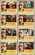 "Movie Posters:Academy Award Winners, On the Waterfront (Columbia, 1954). Fine/Very Fine. Lobby Card Setof 8 (11"" X 14""). Academy Award Winners.. ... (T..."