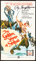 Movie Posters:Fantasy, The Golden Voyage of Sinbad & Other Lot (Warner Paperback, 1974). Very Fine-. Autographed First Edition Paperback Photoplay ... (Total: 3 Items)