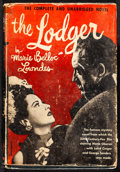 Movie Posters:Horror, The Lodger & Other Lot (World Publishing, 1920s). Fine. MovieEdition Hardcover Books, with Dust Jackets (2) (Multiple Pages...(Total: 2 Items)