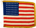 Military & Patriotic:WWII, D-Day: First American Flag Planted on Normandy Beachhead with August 1944 Newspaper Documentation.. ...