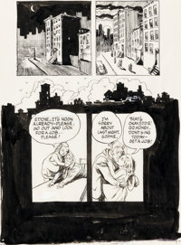 Will Eisner A Contract With God and Other Tenement Stories (Un pacte avec Dieu et autres récits) « The Stre...