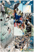 Original Comic Art:Panel Pages, Alex Ross Kingdom Come #2 Page 3 Original Art (DC, 1996)....