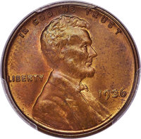 1936 1C Doubled Die Obverse, FS-101, MS64 Red and Brown PCGS. CAC....(PCGS# 37749)