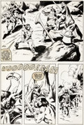 Original Comic Art:Panel Pages, John Buscema Marvel Super Special n°35 « Conan the Destroyer» Original de la page 3 (Marvel, 1984)....