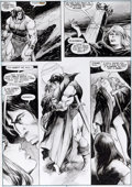Original Comic Art:Panel Pages, John Buscema et E.R. Cruz The Savage Sword of Conan n°210 Original de la page 3 (Marvel, 1992)....