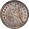 Seated Dimes, 1853 10C Arrows MS67 NGC....