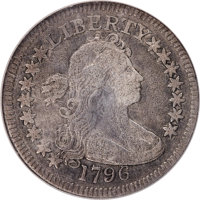 1796 25C B-2, R.3 -- Corroded, Improperly Cleaned -- NCS. Fine Details....(PCGS# 38920)
