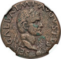 Ancients:Roman Imperial, Ancients: Galba (AD 68-69). AE as (26mm, 10.20 gm, 4h). NGC VF 5/5- 3/5....