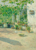 Fine Art - Painting, European:Modern  (1900 1949), Eliseo Meifrén y Roig (Spanish, 1859-1939). Pleno sol. Oilon canvas. 31 x 23 inches (78.7 x 58.4 cm). Signed lower righ...