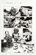 Original Comic Art:Panel Pages, Steve Epting Captain America #4 Story Page 20 Original Art(Marvel, 2005)....