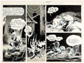 Original Comic Art:Panel Pages, George Metzger Beyond Time and Again (nn) Story Page 38 Original Art (Kyle & Wheary, 1976). ...
