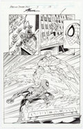 Original Comic Art:Panel Pages, John Byrne and Scott Hanna Amazing Spider-Man #3 Story Page 13 Original Art (Marvel, 1999)....