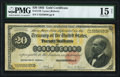 Large Size:Gold Certificates, Fr. 1178 $20 1882 Gold Certificate PMG Choice Fine 15 Net.. ...