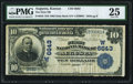 National Bank Notes:Kansas, Augusta, KS - $10 1902 Date Back Fr. 616 The First NB Ch. # (W)6643 PMG Very Fine 25.. ...