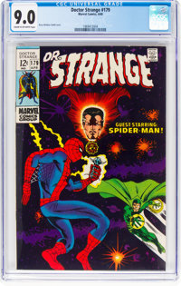 Doctor Strange #179 (Marvel, 1969) CGC VF/NM 9.0 Cream to off-white pages