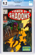 Bronze Age (1970-1979):Horror, Tower of Shadows #3 (Marvel, 1970) CGC NM- 9.2 Off-white to white pages....