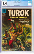 Silver Age (1956-1969):Adventure, Turok, Son of Stone #22 (Dell, 1961) CGC NM 9.4 Off-white pages....