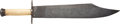"""Edged Weapons:Knives, Impressive """"Texas 1861"""" Reproduction Bowie Knife.. ..."""