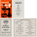 Music Memorabilia:Memorabilia, The Beatles Royal Albert Hall and New Musical Express Poll Winners' All-Star Concert Programs (UK, 1963).. ... (Total: 2 )