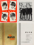 "Music Memorabilia:Memorabilia, The Beatles ""The Beatles Show"" and Nationwide Tour Concert Programs (UK, 1963-1964).. ..."