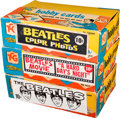 Music Memorabilia:Memorabilia, Beatles - Three Topps Trading Card Guild Display Boxes (US, 1964).. ... (Total: 3 Items)