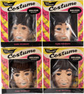 Music Memorabilia:Memorabilia, The Beatles - Complete Set of Four Vintage Halloween Costumes withMasks by Ben Cooper, in Original Boxes (US, NEMS, 1964).