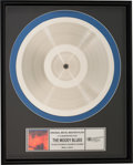 Music Memorabilia:Awards, The Moody Blues To Our Children's Children's Children Original Metal Master Plate . ...