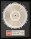 Music Memorabilia:Awards, The Moody Blues' To Our Children's Children's Children Original Metal Master Plate. . ...