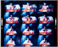 "Striptease (Columbia, 1996). Fine/Very Fine. Uncut Lenticular Card Set (16"" X 20""). Comedy"