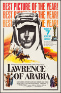 """Movie Posters:Academy Award Winners, Lawrence of Arabia (Columbia, 1963). Very Fine- on Linen. One Sheet (27"""" X 41.5"""") Style D. Academy Award Winners.. ..."""